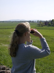 Sarah Kay Bierle at Gettysburg National Battlefield (2008)