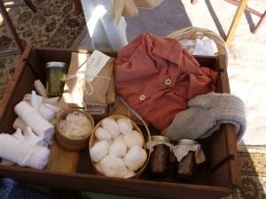 Box of supplies (from a Civil War Re-enactment)