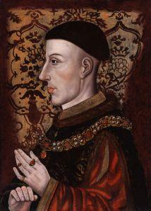 Medieval portrait of King Henry V
