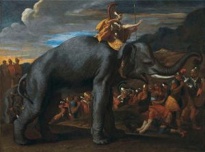 Hannibal and Elephant (Painting c. 1626 AD)