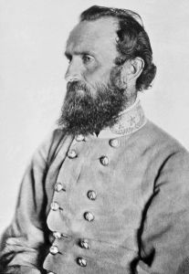 "General Thomas J. ""Stonewall"" Jackson, 1863  (Public Domain via Wikimedia Commons)"