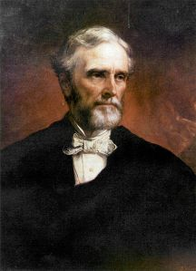 Jefferson Davis portrait, 1874 (Public Domain)