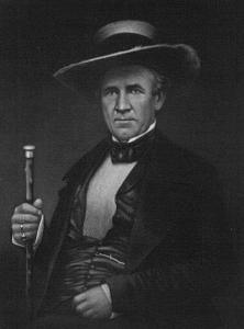 Samuel Houston  (Portrait from Public Domain)