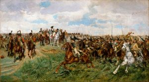 Painting of French Cavalry in 1807 (Public Domain)