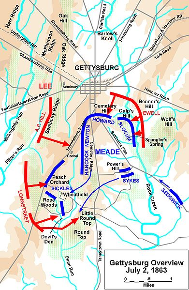 Battle of Gettysburg Overview  Gazette665