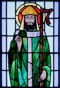 St. Patrick Stained Glass (Photo by Andreas F. Borchert, Wikipedia)