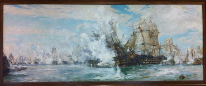 Battle_Of_Trafalgar_By_William_Lionel_Wyllie,_Juno_Tower,_CFB_Halifax_Nova_Scotia