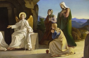 Women at the Tomb, Jesus's Resurrection