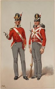 British uniforms, Napoleonic Era