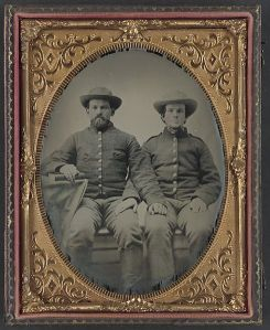 Soldiers of the 10th Virginia Cavalry