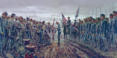"""The Last Salute"" by Mort Kunstler http://www.mortkunstler.com/html/art-limited-edition-prints.asp?action=view&ID=422&cat=136"