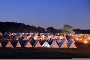 Union army camp [public domain]
