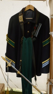 Union Surgeon's Coat (Photo by Miss Sarah, Prado Park 2015)
