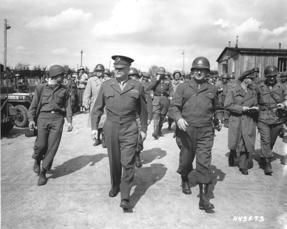 Eisenhower and his generals confronting real-life bullies in WWII