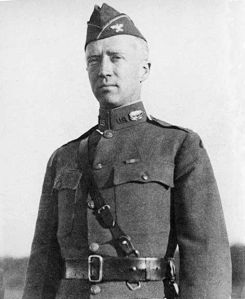 George Patton in 1919, as he begins studying tanks and developing new strategies for mechanized warfare