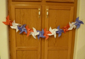 July Holiday History and Craft Patriotic Pinwheels