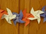 July Holiday History and Craft Patriotic Pinwheels
