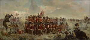 "British Troops in a ""Square"" formation - Waterloo Campaign"