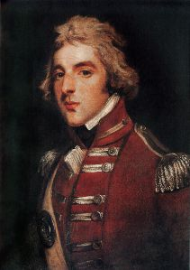 Arthur Wellesley as a young officer