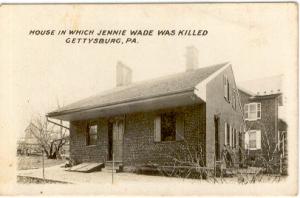 McClellan House, Gettysburg (Photo c. 1900)