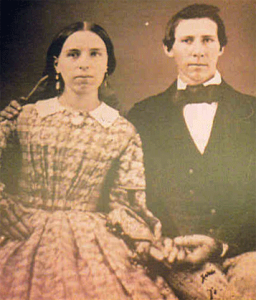 George and Diana Sandoe - George served with the Emergency Cavalry unit from Gettysburg