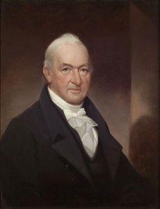 Benjamin Tallmadge (portrait is from c. 1800)