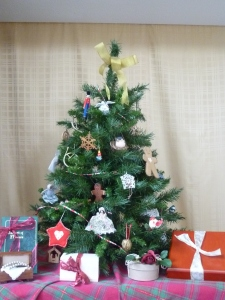 Civil War Era Christmas Tree (Re-creation)