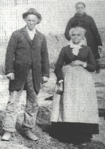 Basil Biggs and his wife owned a farm near Gettysburg