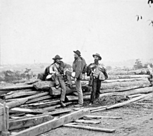 Three_Confederate soldiers