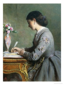 Lady Writing a Letter
