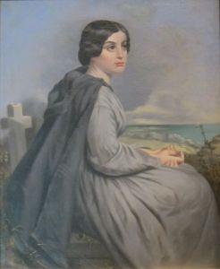 """""""Civil War Widow"""" by Charles Soule, Jr. (1863)"""