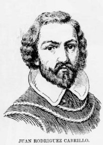 Juan Rodriguez Cabrillo (Image from https://commons.wikimedia.org/wiki/File:Juan_Rodr%C3%ADguez_Cabrillo.jpg)