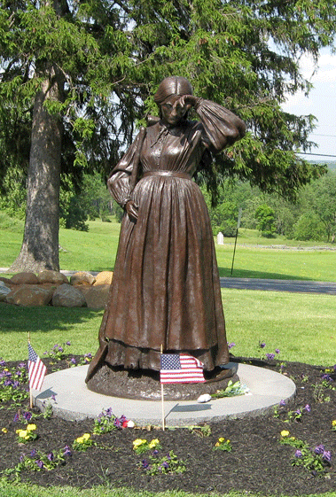 Eliza Thorn - Women's Memorial at Gettysburg (Photograph from http://gettysburg.stonesentinels.com/other-monuments/womens-memorial)