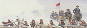 """Hold at All Costs"" by Mort Kunstler http://www.mortkunstler.com/html/store-limited-edition-prints."