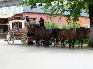 Stagecoach in Columbia