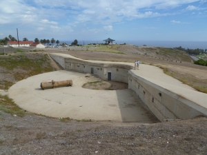 Some of the fortifications of Fort MacArthur