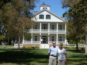 The Banning House Museum (a young lady and her brother kept getting the photographs!)