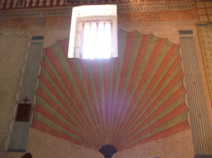 Interior of Mission