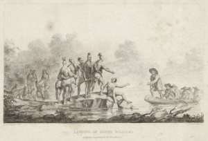 Roger Williams was friendly with the Native Americans.