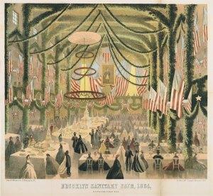 USSC Fair held in Brooklyn in 1864