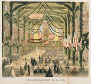 USSC Fair held in Brooklyn in 1864