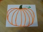 Holiday History and Craft October 2015 - Yarn Pumpkin