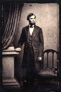 Abraham Lincoln, photograph taken in the spring of 1863