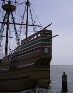 Replica of the Mayflower, Plymouth Massachusetts (Bierle Photo)