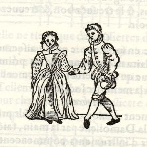 16th Century Dancing; image in public domain in the U.S. because of date