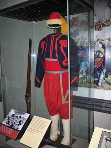 Photo of a New York Zoauve Uniform (Photography by Matthew G. Bisanz - found on Wikicommons Images)