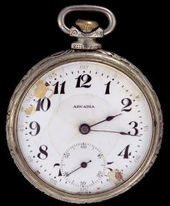 1859 Pocket Watch (Photography by suebun, via Wikimedia Commons)