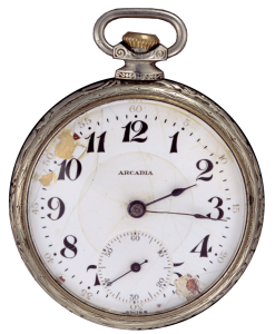 1859 Pocket Watch (Photography by suebun, via Wikimedia Commons)