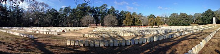 Andersonville National Cemetery (By Fredlyfish4, own work, via Wikimedia Commons)