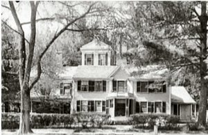 One of the Alcott Family's homes in Concord, Massachusetts